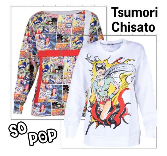 Pop Super Woman by Tsumori Chisato by brunarosso-eshop on Polyvore featuring moda