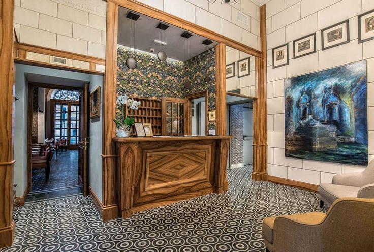 Hotel damaso ristorante cocktail bar project by rpm for Arredamento via gregorio vii roma