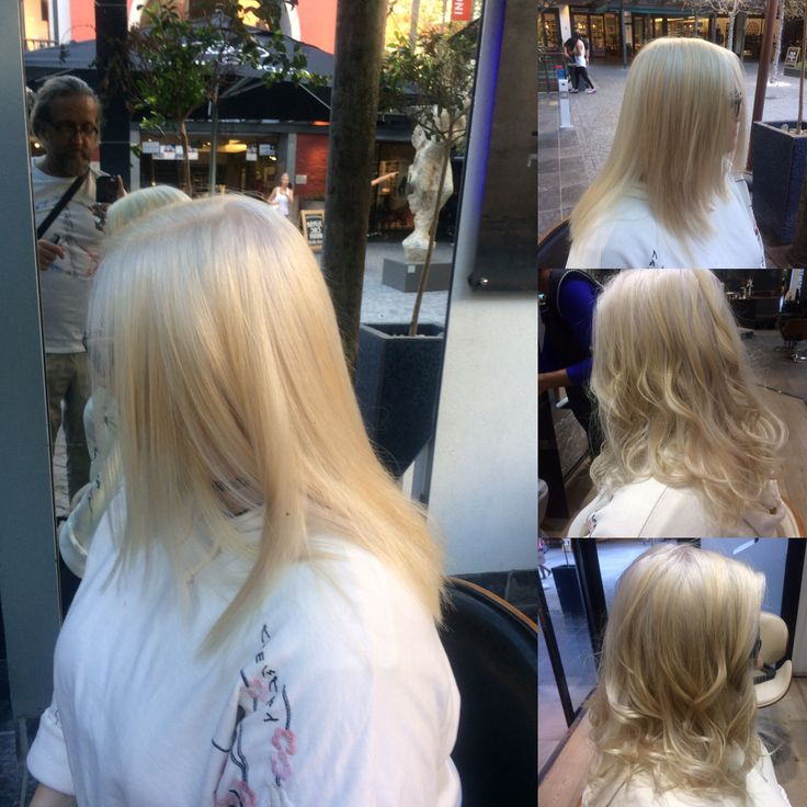 Done by me 2 I applications 3 % bleach toner
