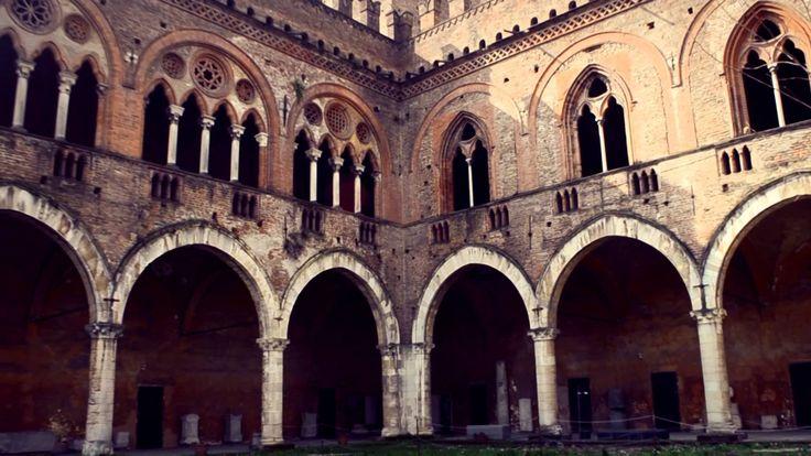 Visconti Castle in Pavia