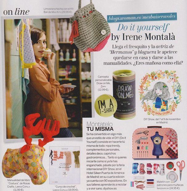 ¡Han publicado nuestro Kit Bali en la revista Woman del mes de Noviembre!