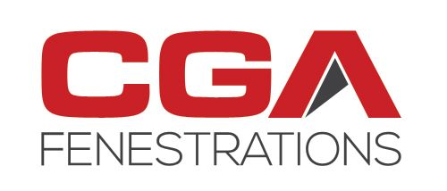 New logo design for CGA Fenestrations. We got rid of the old symbolic centurion and kept it simple.