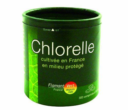 Flamant Vert Chlorelle Cultivée en France en Milieu Protégé Présentation 300 Comprimés de 300 mg: La Chorelle dite PURE CHLORELLE est une…