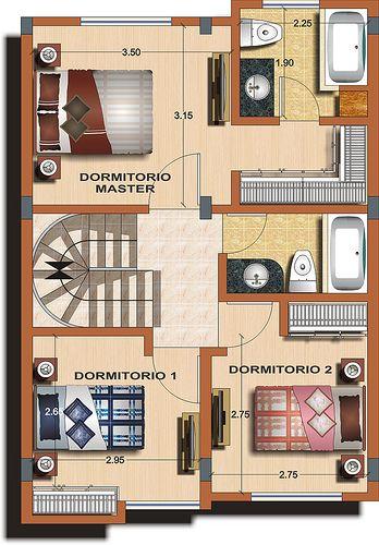 Casa tipo B - Planta 2