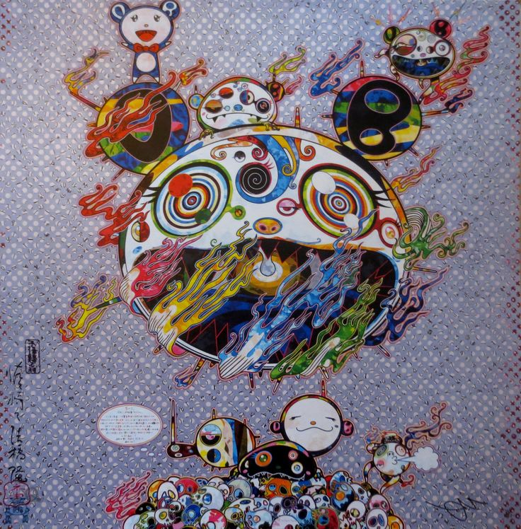 Chaos  by Takashi Murakami on Paddle8. Paddle8 is a marketplace for collectors, presenting auctions of extraordinary art and objects.