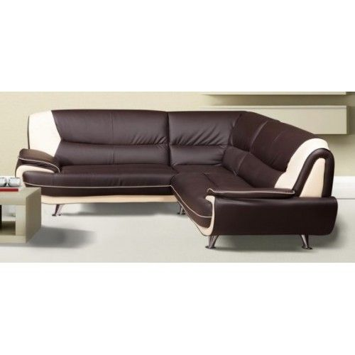 The Cheap Romeo Faux Leather Corner Sofa