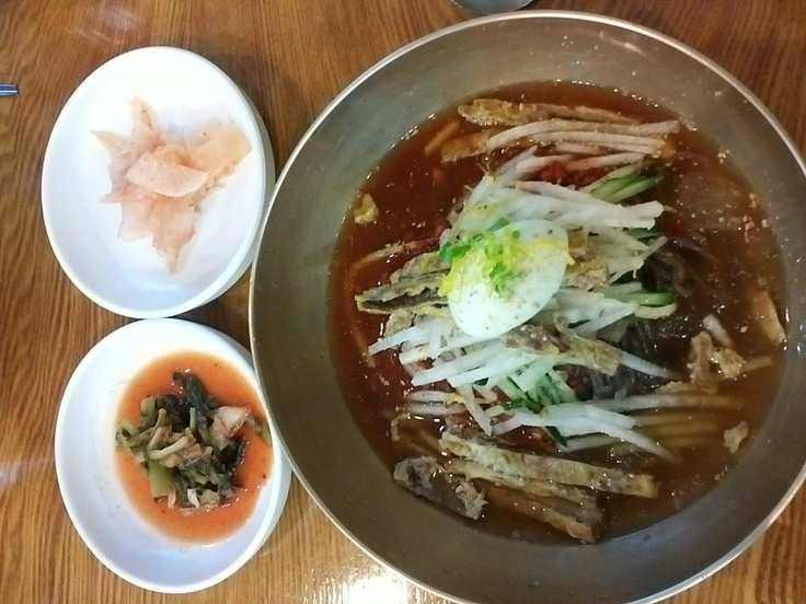 Jinju cold noodle - Korean local traditional