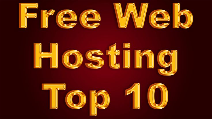 Free Web Hosting. Top 10 Services!