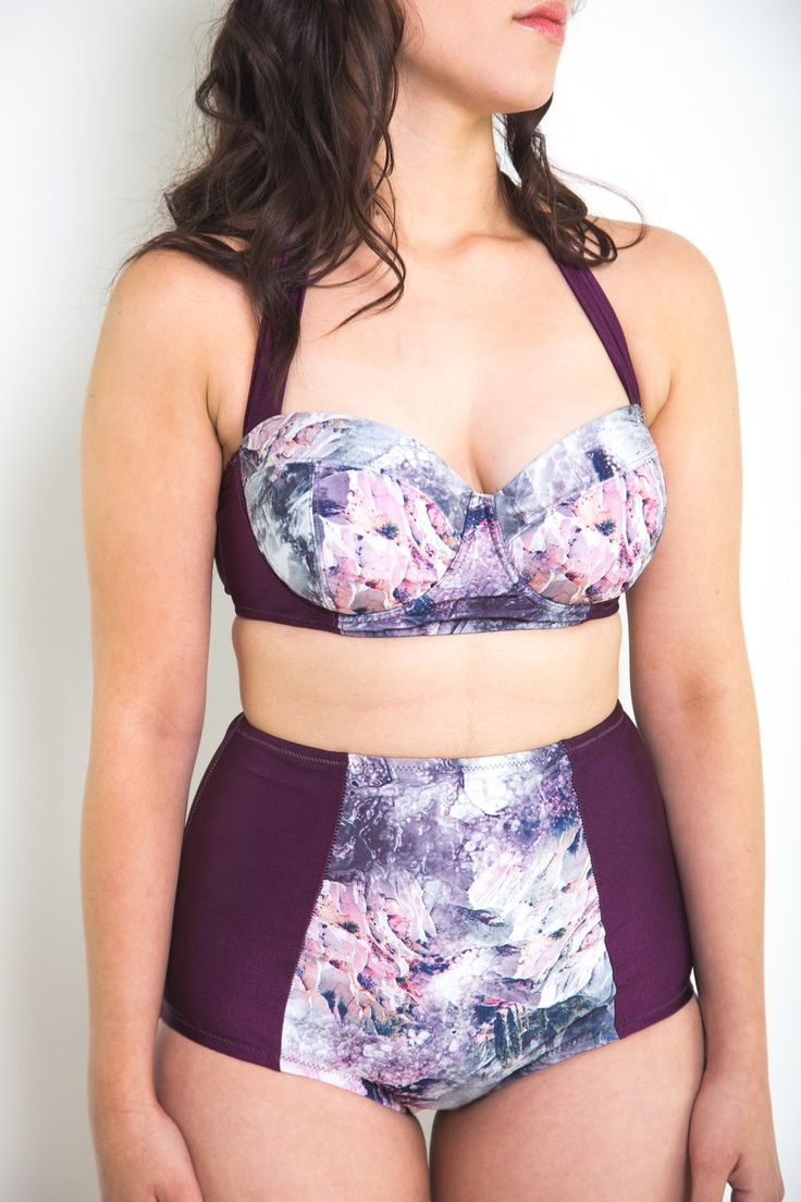 Sophie Swimsuit Pattern // Supportive underwired swimsuit // Closet Case Patterns