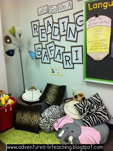 Adventures in Teaching - Cute Safari theme for the whole classroom!