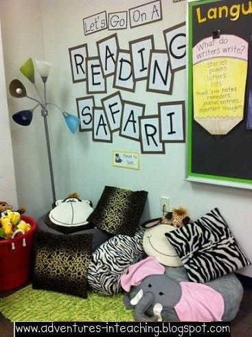 Adventures in Teaching - Cute Safari theme for the whole classroom!