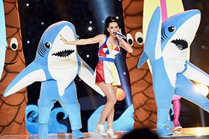 Behold the Greatest Memes from Katy Perry's Epic Halftime Performance