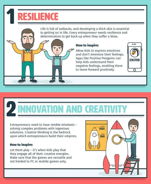 [INFOGRAPHIC] 8 skills designers should be teaching their kids—what you should be passing down; Details>