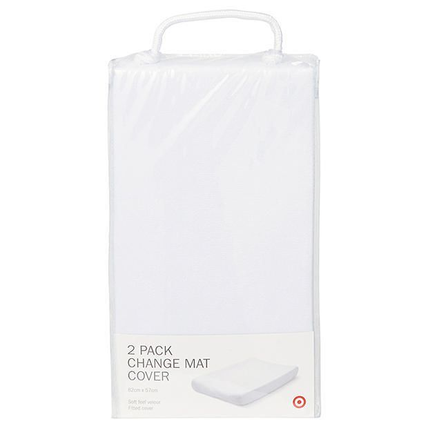 Pack of 2 Change Mat Covers, $15