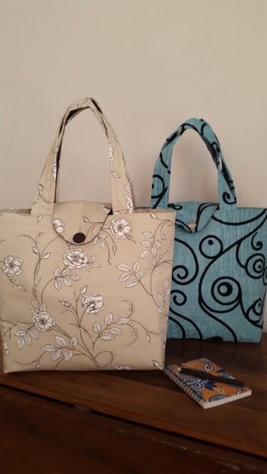 Big box bags with flap closure great to take shopping or for a day out.