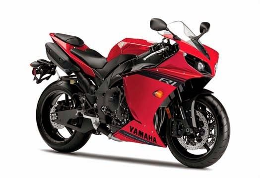 2014 New Yamaha YZF-R1 comes with a refresher in terms of appearance with color and the latest graphics, which look more sporty and fierce.