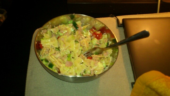 Huisgemaakte pastasalade!