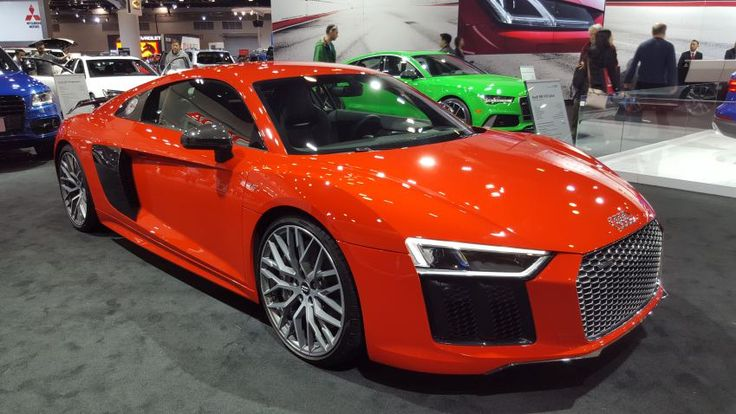 Both models of the 2017 Audi R8 comes with the same V10 engine with the size of 5.2 liters...So, how much does an Audi R8 cost?...the V10 plus model will cost #2017AudiR8 ##2017R8 #2017Audi #R8