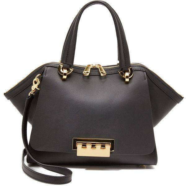 Zac Zac Posen Eartha Small Double Handle Bag ($495) ❤ liked on Polyvore featuring bags, handbags, zac zac posen, zac zac posen handbags and zac zac posen bag