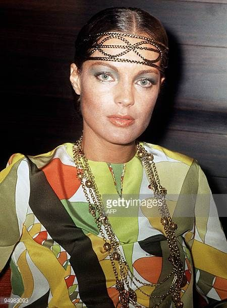 FILES Picture taken in 1969 shows Austrian born actress Romy Schneider coming to the movies very early starring in the very popular series 'Sissi' A...
