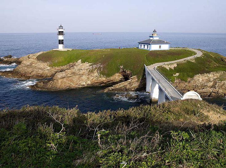 Illa Pancha Lighthouse - Ribadeo #Galicia