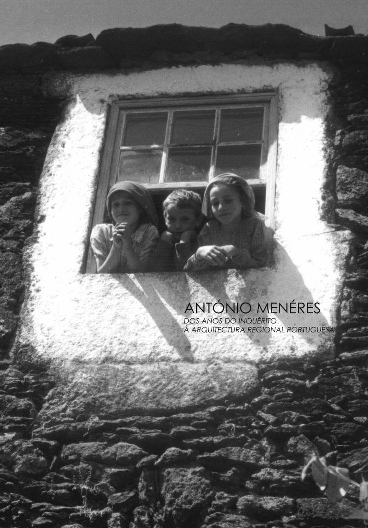 """Book Cover, """"António Menéres, dos anos do Inquérito à Arquitectura Regional Portuguesa"""""""