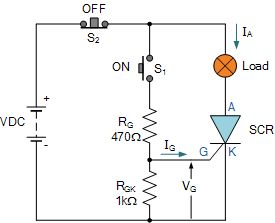 DC #Thyristor Switching Circuit #Electronics #Electrical