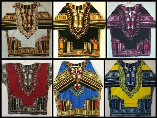 Mens Dashiki Shirts African Blouses Hippie Vintage Top WHOLESALE LOT 10 PIECES #Handmade #DashikiBlouse