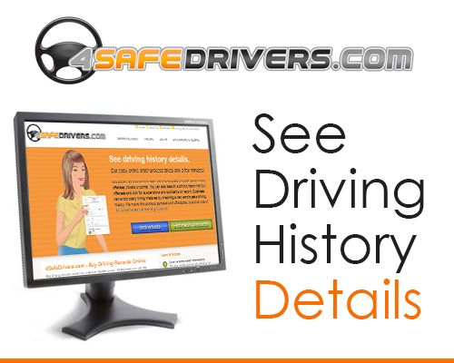 4SafeDrivers.com provides #OnlineMVRReports, Driving history, personal driving records, defensive driving courses, driver's Ed program and more.