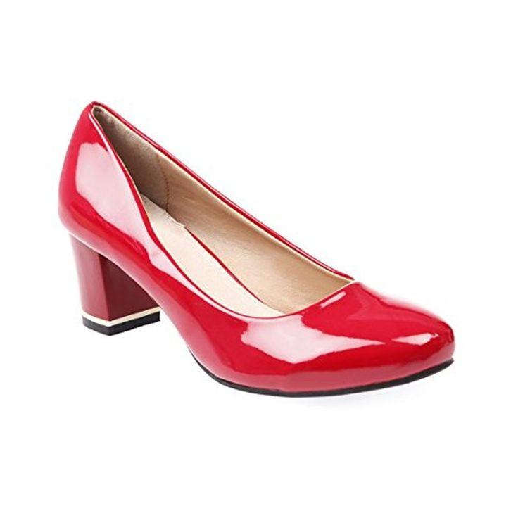22116, Escarpins Femme, Rouge (Chili Leather), 38 EUTamaris