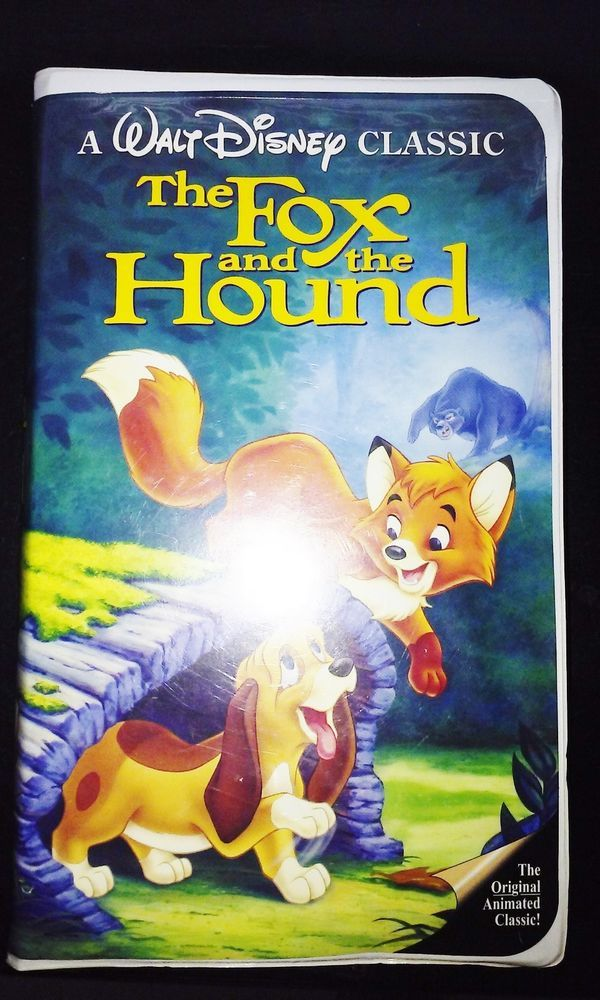 """DISNEY VHS """"FOX AND THE HOUND"""" WITH original Coupons! RARE COLLECTOR'S PACKAGE! WATCH THE VIDEO PREVIEW ON EBAY. CLICK THE SITE ABOVE!"""