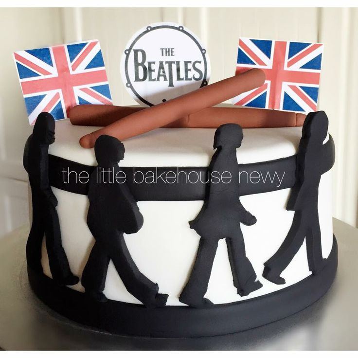 """The Beatles"" Cake"