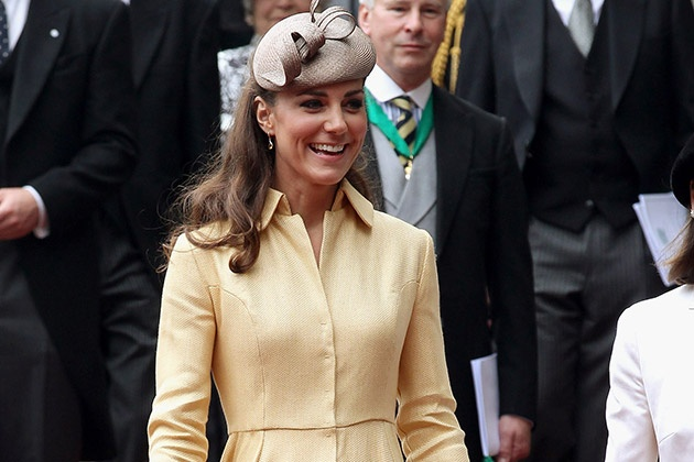 Kate looks so happy! What a great smile!
