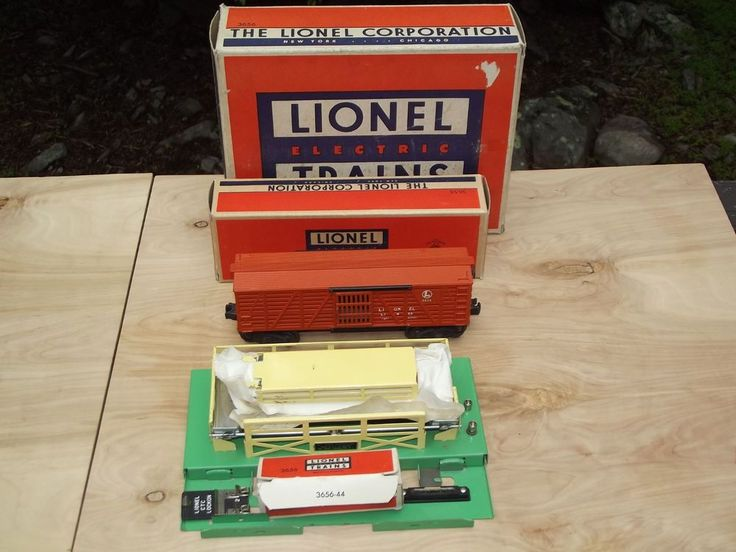 33 best lionel super o images on pinterest train trains and engine lionel trains postwar no 3656 operating cattle car corral original boxes lionel asfbconference2016 Image collections