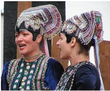 folk costume, Slovakia