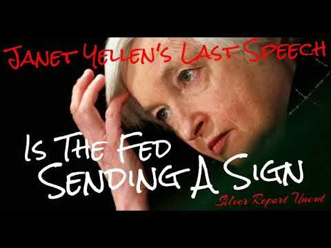 (5) The Coming Stock Market Crash Won't Damage The Core Financial System - Janet Yellen's Parting Words - YouTube