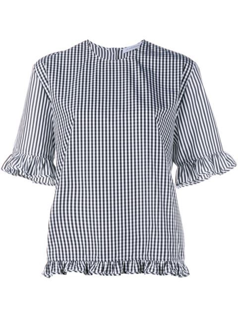 J.W.ANDERSON Checked Blouse. #j.w.anderson #cloth #blouse