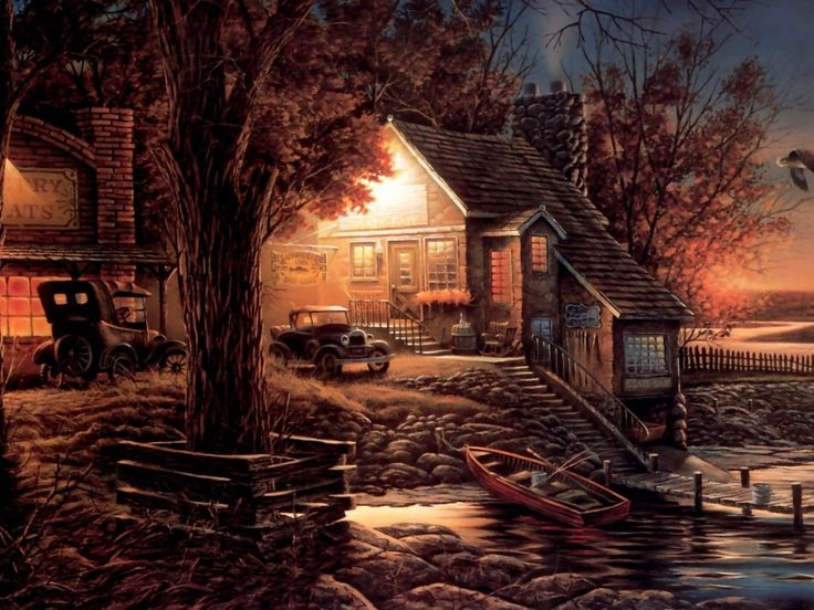 140 Best Paintings By Terry Redlin Images On Pinterest