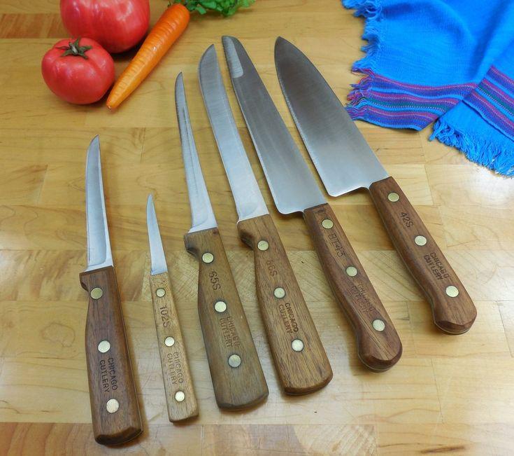 72 Best Vintage & Newer Kitchen Chef Knives