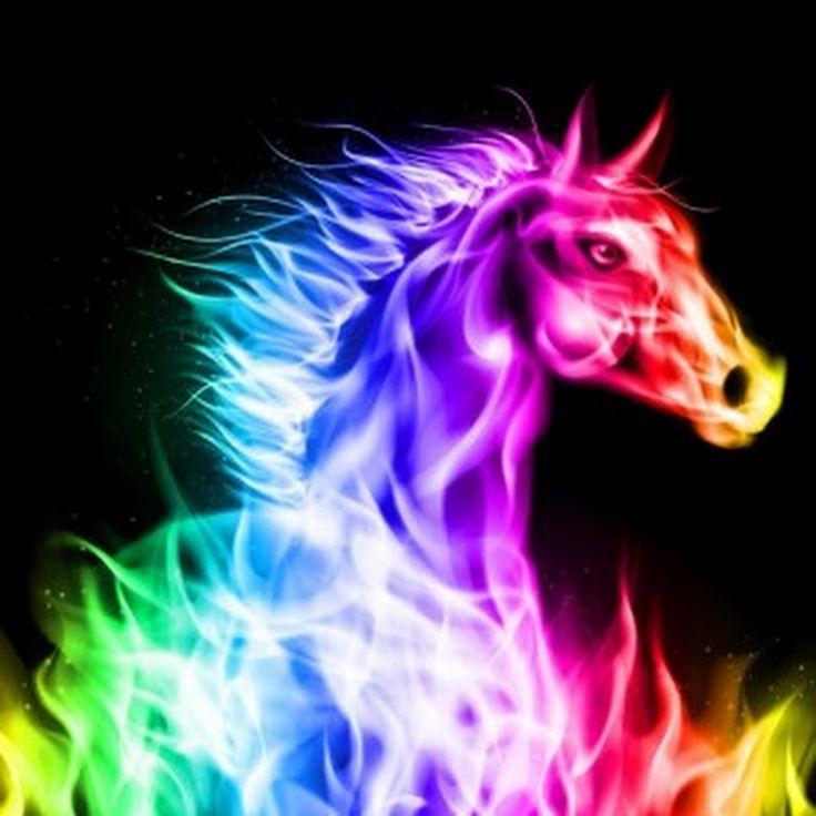 25 best neon animals images on pinterest fractal art - Neon animals wallpaper ...