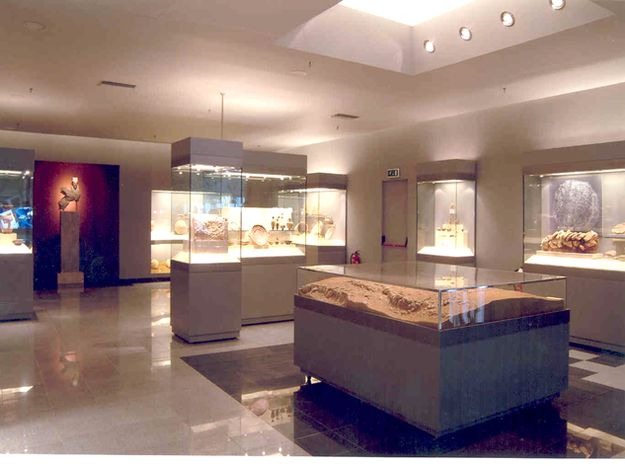 """Athens Airport, Greece has a """"mini-museum"""" featuring archaeological findings dating back to the Byzantium era"""