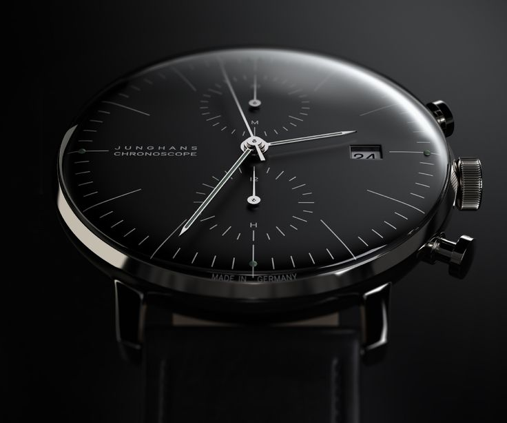 Junghaus Chronoscope designed by Max Bill