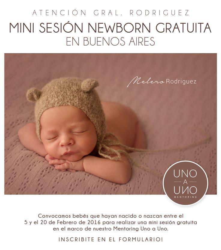 ATENCIÓN BUENOS AIRES! NUEVA CONVOCATORIA MINI SESIÓN GRATUITA! Bebés que nazcan entre el 5 y el 20 de Febrero (o con esa Fecha Probable de Parto). Anotate en el siguiente formulario! http://goo.gl/forms/2irfTio4sf Realizaremos una Mini Sesión fotográfica gratuita en el marco de nuestro Mentoring Uno a Uno en Buenos Aires (Gral. Rodriguez). melero rodriguez photography © 2016 