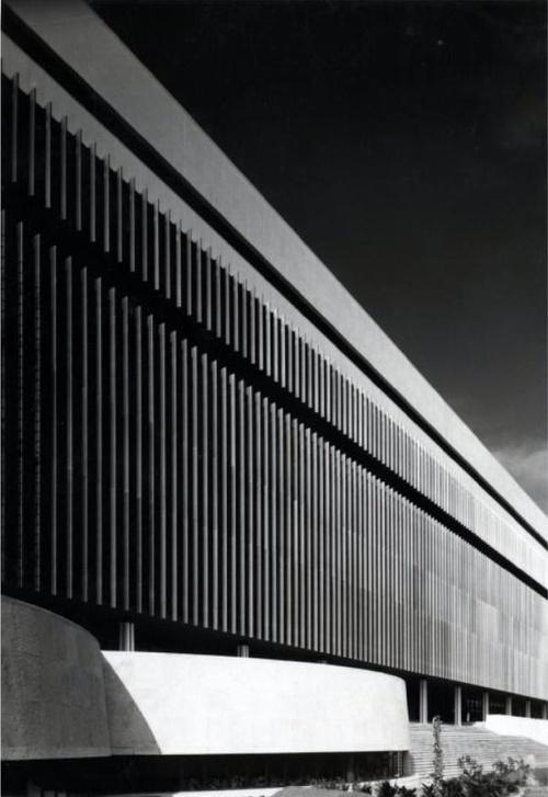 Luigi Moretti - Edifici della SGI allEUR, Roma 500×727 pixels