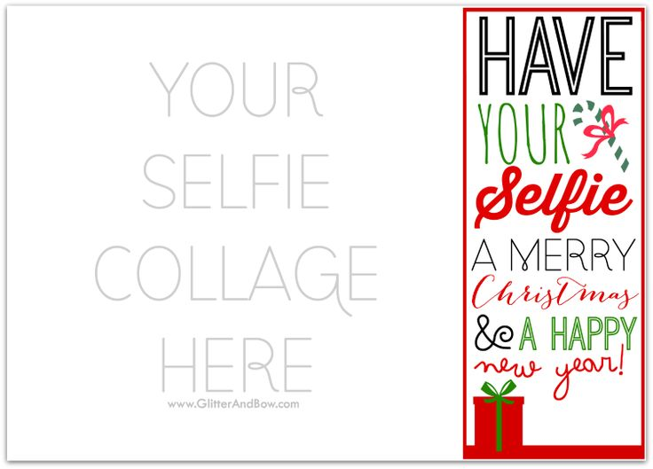 Christmas Card Template » Christmas Card Templates To Print - Free