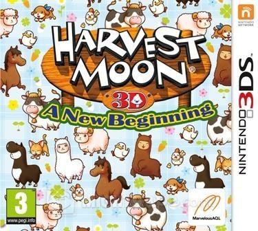 Harvest Moon: A New Beginning ~ Nintendo 3DS
