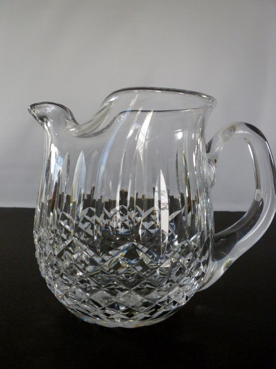 Waterford Crystal Water Pitcher Crystal Pitcher by oldandnew8, $69.00