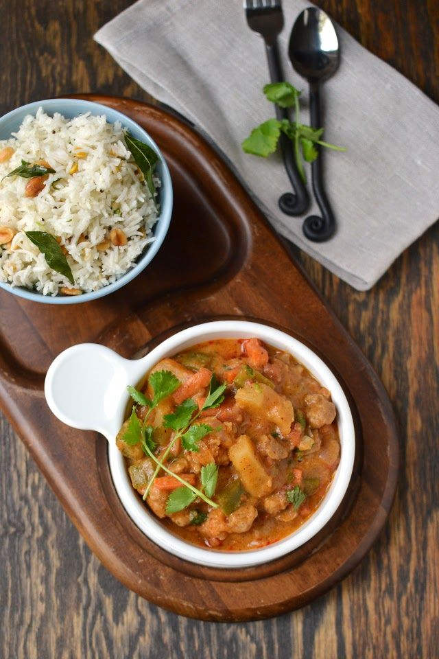Sri Lankan Vegetable Curry by Cook's Hideout