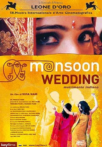 MONSOON WEDDING by Mira Nair