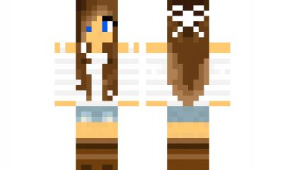 minecraft skin girl Find it with our new Android Minecraft Skins App: https://play.google.com/store/apps/details?id=the.gecko.girlskins